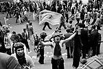 Scottish fans at England Scotland Football International Wembley Stadium, May 1975