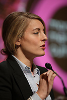 Melanie Joly<br /> <br /> at the press conference for Montreal, Metropole Culturelle's Coup d'oeil,<br />  April 15, 2016 at City hall.<br /> <br /> Photo : Pierre Roussel - Agence Quebec Presse<br /> <br /> <br /> <br /> <br /> <br /> <br /> <br /> <br /> .
