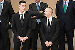 Jesús Tortosa Cabrera and Andres Iniesta attends to the National Sports Awards 2015 at El Pardo Palace in Madrid, Spain. January 23, 2017. (ALTERPHOTOS/BorjaB.Hojas)