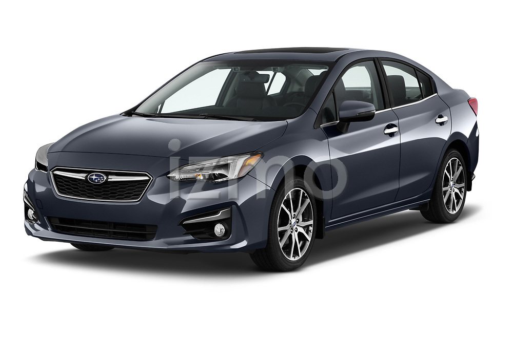 2018 Subaru Impreza 2.0i-Limited-CVT-PZEV 4 Door Sedan Angular Front stock photos of front three quarter view