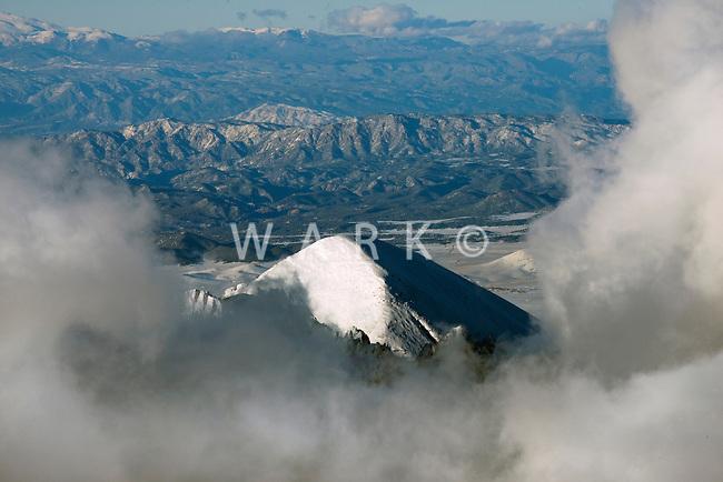Sangre de Cristo mountain range, Colorado. Feb 2014