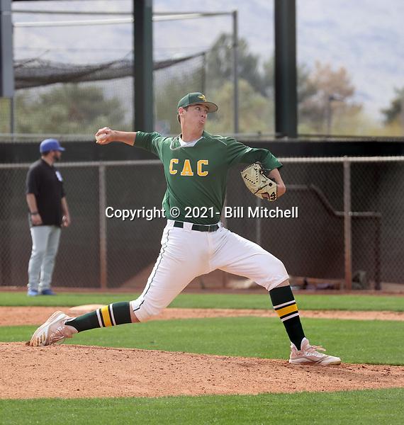 DJ Carpenter - 2021 Central Arizona College Vaqueros (Bill Mitchell)
