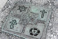 Platz Bohatero Getta in Wroclaw (Breslau), Woiwodschaft Niederschlesien (Województwo dolnośląskie), Polen, Europa<br /> Plac Bohatero Getta  in Wroclaw,  Poland, Europe