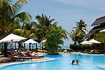 MUS, Mauritius, Grand Gaube, Hotel Paul et Virginie: Pool | MUS, Mauritius, Grand Gaube, Hotel Paul et Virginie: pool