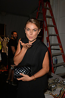 MIAMI, FL - JULY 18: Serinda Swan at the Beach Bunny runway show Featuring The Blonds show during Mercedes-Benz Fashion Week Swim 2015 at Cabana Grande at The Raleigh on July 18, 2014 in Miami, Florida. <br />