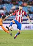 "Jorge Resurreccion Merodio ""Koke"" (r) of Atletico de Madrid battles for the ball with Antonio Manuel Luna Rodriguez of SD Eibar during their Copa del Rey 2016-17 Quarter-final match between Atletico de Madrid and SD Eibar at the Vicente Calderón Stadium on 19 January 2017 in Madrid, Spain. Photo by Diego Gonzalez Souto / Power Sport Images"