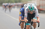 Max Schachmann (GER) Bora-Hansgrohe and Mauri Vansevenant (BEL) Deceuninck-Quick Step join the 31 man breakaway during Stage 10 of La Vuelta d'Espana 2021, running 189km from Roquetas de Mar to Rincón de la Victoria, Spain. 24th August 2021.     <br /> Picture: Luis Angel Gomez/Photogomezsport   Cyclefile<br /> <br /> All photos usage must carry mandatory copyright credit (© Cyclefile   Luis Angel Gomez/Photogomezsport)