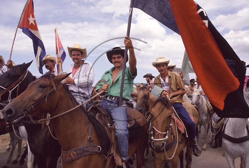 maj 1st celebration, Trinidad, Cuba,