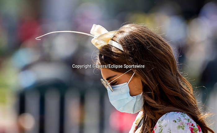 September 5, 2020: Fashion at the 2020 Derby during the Corona Virus Pandemic at Churchill Downs in Louisville, Kentucky, on September 05, 2020. Evers/Eclipse Sportswire/CSM