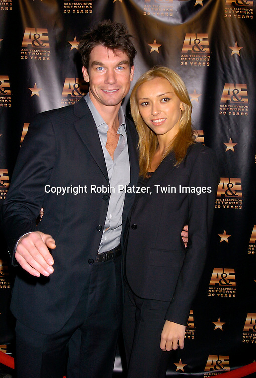 Jerry O' Connell and girlfrinend Guiliana DiPandi ..at A & E Television Networks 20th Anniversary Celebration on January 27, 2004 at the Mandarin Oriental Hotel . ..Photo by Robin Platzer, Twin Images