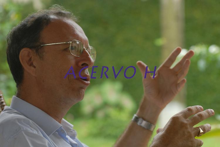 Bispo D. Flávio Giovenalli um dos ameaçados de morte entre oito religiosos no Pará.<br />Abaetetuba, Pará, Brasil.<br />Foto Paulo Santos<br />03/02/2009