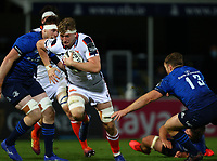 16th November 2020; RDS Arena, Dublin, Leinster, Ireland; Guinness Pro 14 Rugby, Leinster versus Edinburgh; Jamie Hodgson (Edinburgh) charges for a gap in the Leinster defence