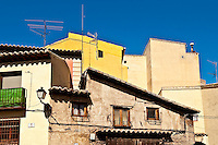 Traditional houses, Toledo, Spain