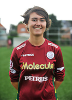 20130824 - Zulte , Belgium :  Lisa Ronse , Saturday 24 August 2013. Teampictures <br /> PHOTO DAVID CATRY / Nikonpro.be