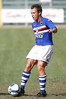Cassano Sampdoria<br /> La Spezia 16/08/2008 Calcio <br /> Siena Sampdoria <br /> Foto Insidefoto