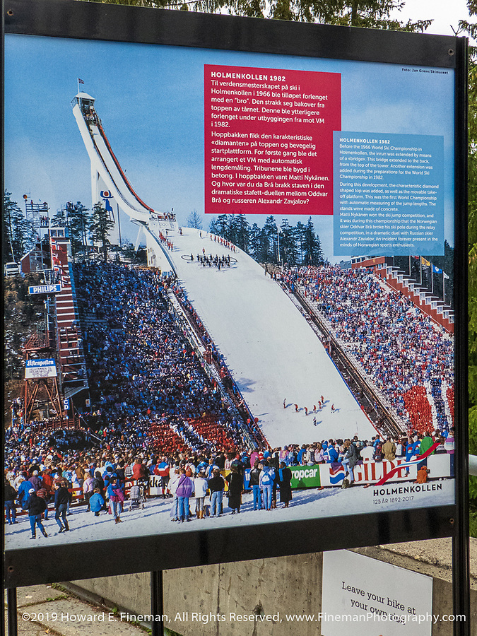 Oslo's world championship ski jump