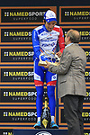 Thibaut Pinot (FRA) Groupama-FDJ wins the 99th edition of Milan-Turin 2018, running 200km from Magenta Milan to Superga Basilica Turin, Italy. 10th October 2018.<br /> Picture: Eoin Clarke | Cyclefile<br /> <br /> <br /> All photos usage must carry mandatory copyright credit (© Cyclefile | Eoin Clarke)