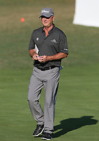 17th October 2020; Richmond, Virginia, USA; Wes Short, Jr. walking off the 18th green during the Dominion Energy Charity Classic on October 17, 2020, at The Country Club of Virginia James River Course in Richmond