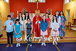 Clogher National School pupils who were confirmed on Thursday last in St Brendan's Church, Clogher were Padraig Reidy, Sinead Murphy (Principal), Sinead Scanlan, Ava O'Connor, Molly O'Connor, Beatrice Mannix, Fr Gearoid Walsh, Ava Begley, Fiona McCarthy, Sorcha Healy, Grace Kelly and Aisling O'Brien (Teacher).