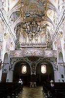 Vienna: St. Charles Borromeo--rear of church.