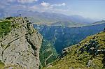 Canyon d'Anisclo et Mont Perdu  . Parc national D'ordesa et du Mont Perdu. Patrimoine mondial de l'Unesco. Espagne