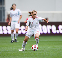 Dinora Garza. The USWNT defeated Mexico, 1-0, during the game at Red Bull Arena in Harrison, NJ.