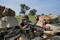 - exercisies of NATO  mobile force of ready intervention AMF (Mobile Allied Force) in Puglia, US parachutists ....- esercitazioni della forza mobile NATO di pronto intervento AMF (Allied Mobile Force) in Puglia, paracadutisti USA