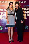 HAIKOU, CHINA - OCTOBER 29:  Lorena Ochoa (L) of Mexico and Rosie Jones of USA attend red carpet during day three of the Mission Hills Start Trophy tournament at Mission Hills Resort on October 29, 2010 in Haikou, China. Photo by Victor Fraile / The Power of Sport Images