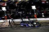 #16: Brett Moffitt, Hattori Racing Enterprises, Toyota Tundra AISIN GROUP, pit stop