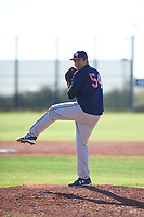 Aaron Cardenas (54), from Missouri City, Texas, while playing for the Astros during the Under Armour Baseball Factory Recruiting Classic at Red Mountain Baseball Complex on December 28, 2017 in Mesa, Arizona. (Zachary Lucy/Four Seam Images)