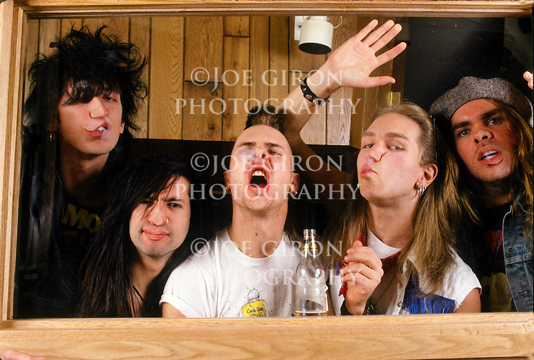 Various portrait sessions of the rock band, Jet Boy.