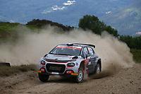 21st May 2021, Arganil, Portugal. WRC Rally of Portugal;  Yohan Rossel-Citroen C3 WRC2