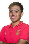 Feng Xiaoting of Guangzhou Evergrande poses for the official photo prior to the Guangzhou Evergrande vs Gamba Osaka match as part the AFC Champions League 2015 Semi Final 1st Leg match on September 29, 2015 at  Tianhe Sport Center in Guangzhou, China. Photo by Aitor Alcalde / Power Sport Images