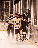 Zach Walker (BC - 14), Kasper Björkqvist (PC - 20) - The Boston College Eagles defeated the Providence College Friars 3-1 (EN) on Sunday, January 8, 2017, at Fenway Park in Boston, Massachusetts.The Boston College Eagles defeated the Providence College Friars 3-1 (EN) on Sunday, January 8, 2017, at Fenway Park.