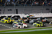 2017 Camping World Truck - NextEra Energy Resources 250<br /> Daytona International Speedway, Daytona Beach, FL USA<br /> Friday 24 February 2017<br /> Matt Crafton, John Hunter Nemechek, and Timothy Peters in the pack<br /> World Copyright: Barry Cantrell/LAT Images<br /> ref: Digital Image 17DAY2bc2138