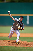 Casey Tallent (13) of Hart County High School in Hartwell, GA during the Perfect Game National Showcase at Hoover Metropolitan Stadium on June 18, 2020 in Hoover, Alabama. (Mike Janes/Four Seam Images)