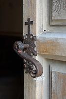 Door, Mission Conception, San Antonio, Texas