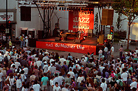 Montreal (Qc) CANADA - 1994 File Photo- Montreal Jazz Festival