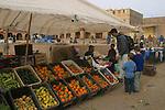 Marché de ouarzazate Maroc.