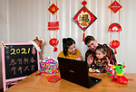 Family to celebrate Chinese New Year virtually this year due to Covid lockdown