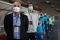13th October 2020; National Stadium of Peru, Lima, Peru; FIFA World Cup 2022 qualifiers; Peru versus Brazil; Tite, manager of Brazil