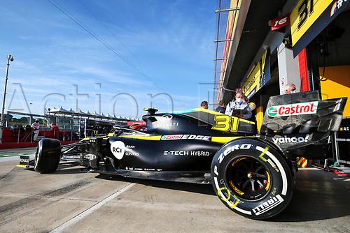 31st October 2020, Imola, Italy; FIA Formula 1 Grand Prix Emilia Romagna, Qualifying;  31 Esteban Ocon FRA, Renault DP World F1 Team
