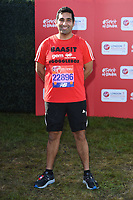 Baasit (Gogglebox)<br /> at the start of the 2018 London Marathon, Greenwich, London<br /> <br /> ©Ash Knotek  D3397  22/04/2018