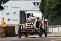 Luis Penedo driving a 1906 12.9 litre 4-cylinder Renault Type AK during a hill climb at Goodwood Festival of Speed 2016 at Goodwood, Chichester, England on 24 June 2016. Photo by David Horn / PRiME Media Images
