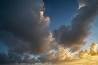 Clouds in Maui, Hawaii