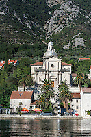 The Catholic Church of the Birth of the Virgin Mary, Prcanj, Montenegro