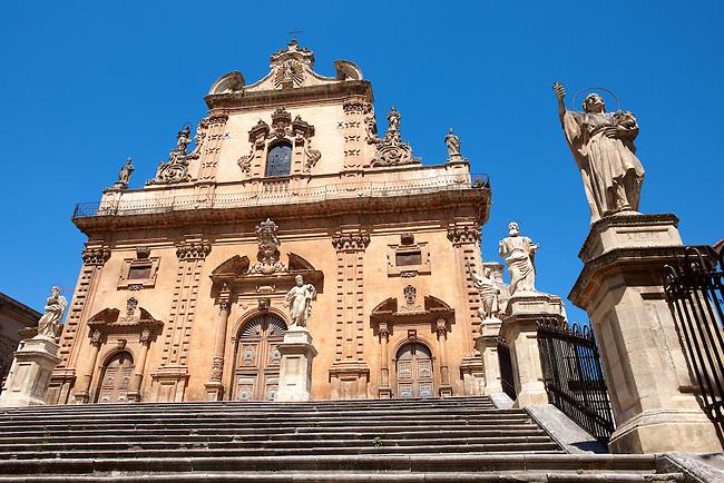 Baroque Cathedral of Modica - Madonna di Trapani - Madonna of Trapani, , Modica, Sicily