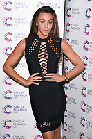 Liberty X (Michelle Heaton)<br /> arriving at James Ingham's Jog On To Cancer, in aid of Cancer Research UK at The Roof Gardens in Kensington, London. <br /> <br /> <br /> ©Ash Knotek  D3248  12/04/2017
