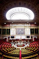 Parigi 27-06-2017 Palais Bourbon <br /> Assemblea Nazionale Francese. Vista Aula Emiciclo. <br /> Foto JB Autissier / Panoramic / Insidefoto