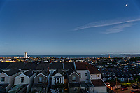 2018 06 21 Longest day of the year, Swansea Bay, Wales, UK